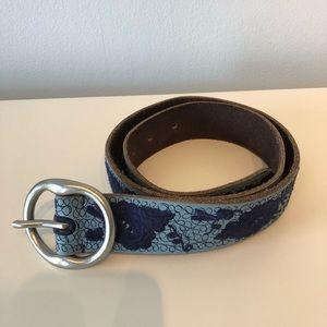 Lucky Brand Belt, Blue